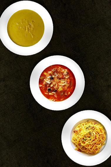Immagine generica dei primi piatti del Ristorante Mirò a Brugherio
